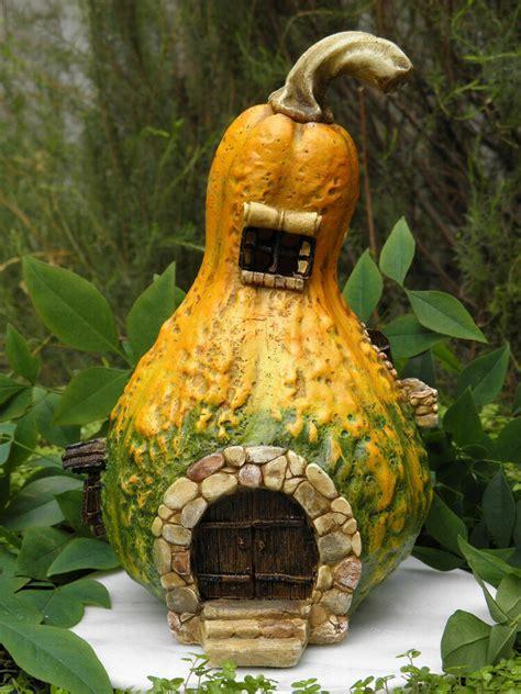 miniature dollhouse fairy garden large gourd house