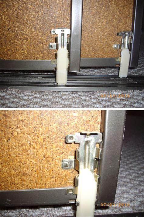 bypass closet door bottom guides swisco