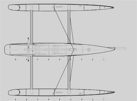 Trimaran Length To Beam Ratio by Kurt Hughes Multihull Design Catamarans And Trimarans