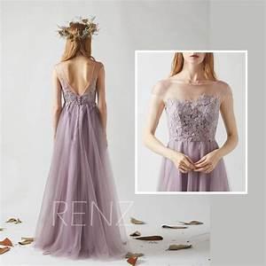 bridesmaid dress dark mauve tulle wedding dressbeaded With mauve wedding dress
