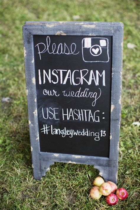 create  wedding hashtag    rustic