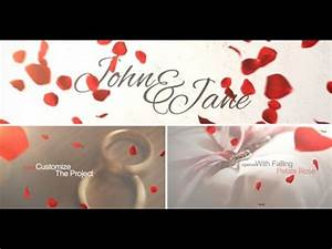 wedding opener after effects template youtube With wedding invitation videohive free download