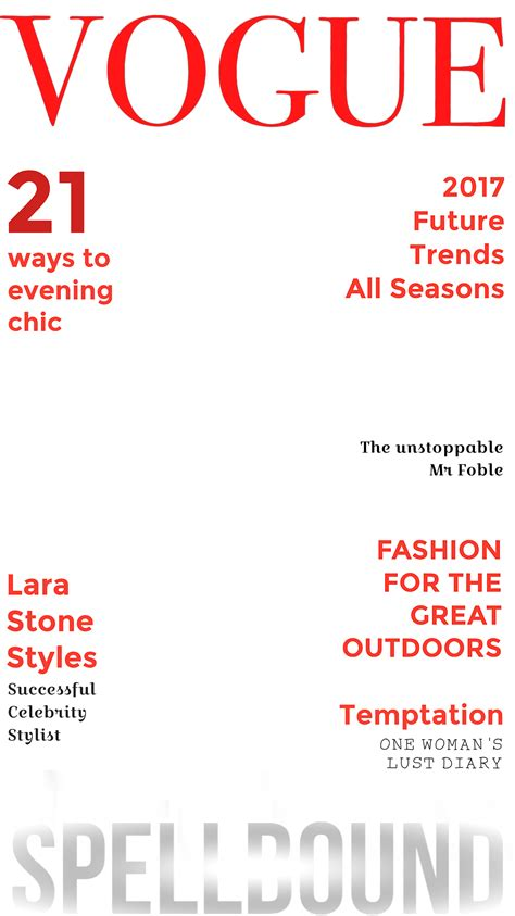 free magazine cover template cover magazine cover template