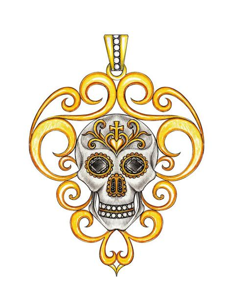 jewelry design vintage mix king skull pendant stock