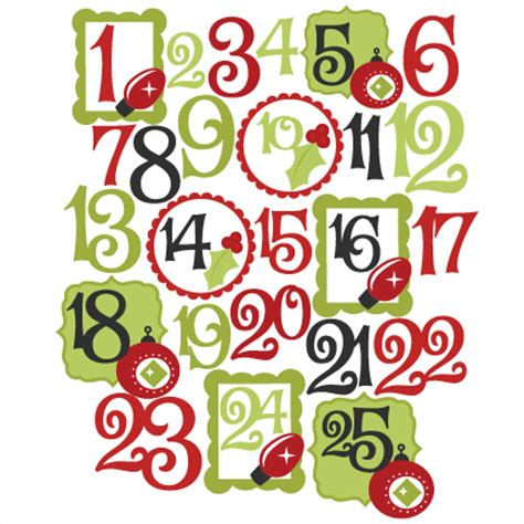 Christmas Numbers Clipart  Clipart Collection  Christmas Alphabet Number, Sale Christmas Word