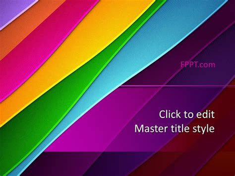 Free Colorful PowerPoint Design Template - Free PowerPoint ...