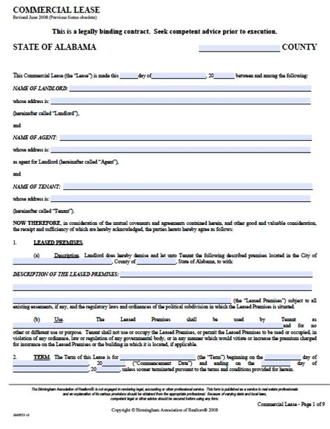 Commercial Sublet Lease Agreement Template by Commercial Property Lease Agreement Free Template Emsec Info