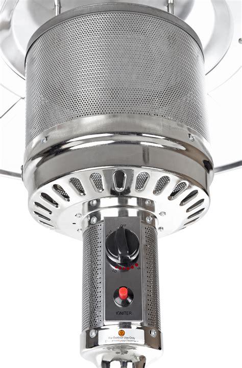 stainless steel patio heater samsclub exclusive