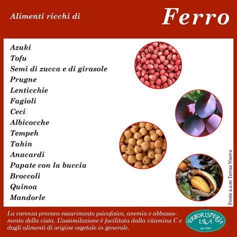 alimenti ricchi di ferro alimenti ricchi di ferro ricette natur bellezza