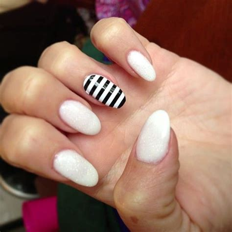white nail designs 50 black and white nail designs