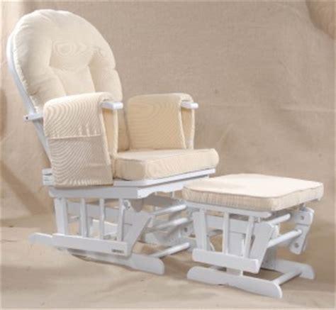 serenity white nursing glider maternity rocking chair srp 163 249 ebay