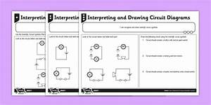 Drawing Circuit Symbols Worksheet
