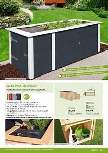 Hochbeet Mit Stauraum : page 109 bauhaus weka gartenwelt 2017 ~ Yasmunasinghe.com Haus und Dekorationen
