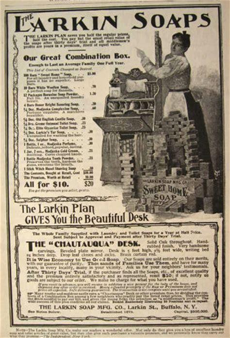 Chautauqua Desk Larkin Soap by 1898 Larkin Soap Ad Chautauqua Desk Vintage Health
