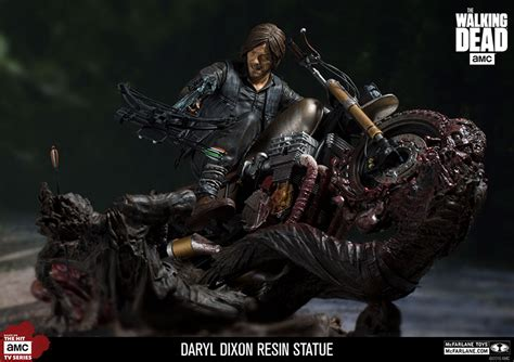 Mcfarlane Toys The Walking Dead Daryl Dixon Resin Statue