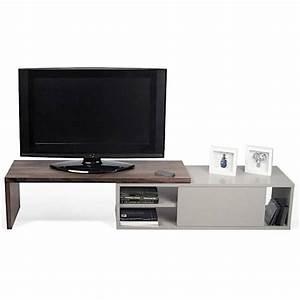 Meuble Tv Extensible : move meuble tv extensible et pivotant temahome ~ Teatrodelosmanantiales.com Idées de Décoration