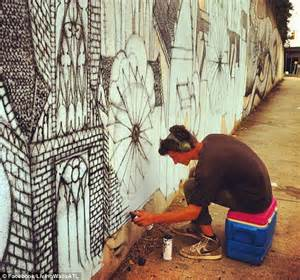 Living Walls: Community outraged over French artist Roti's ...