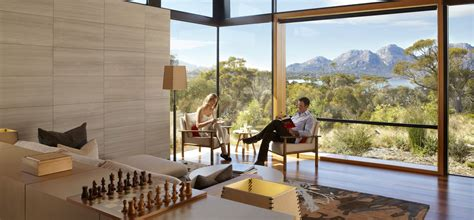 Kitchen Island And Breakfast Bar - best hotels australia accommodation in saffire freycinet suites