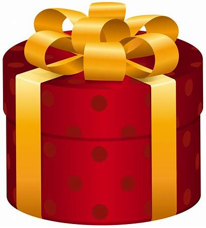Clip Gift Clipart Gifts Boxes Presents Oval