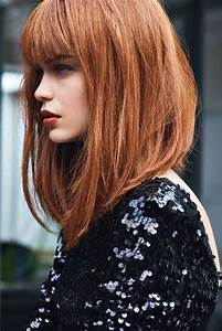 Coupe Cheveux Mi Long : best 25 angled bangs ideas on pinterest bangs ~ Melissatoandfro.com Idées de Décoration