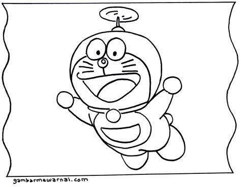 20 contoh gambar sketsa doraemon terlengkap 2019. Gambar Mewarnai Doraemon - Gambar Mewarnai