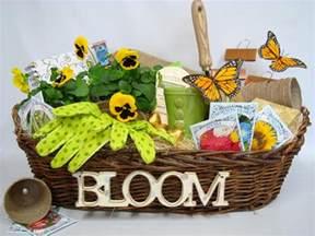 garden gift basket gardening themed gift baskets for