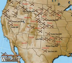 West Indian Wars Map