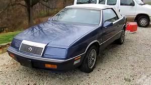 Chrysler Le Baron Cabriolet : 1990 chrysler lebaron v6 convertible full tour start up youtube ~ Medecine-chirurgie-esthetiques.com Avis de Voitures