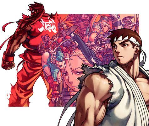 Street Fighter Alpha 3 Official Artworks