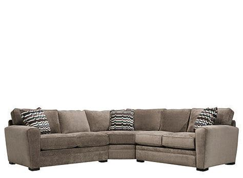 raymour and flanigan ottoman artemis ii 3 pc microfiber sectional from raymour flanigan