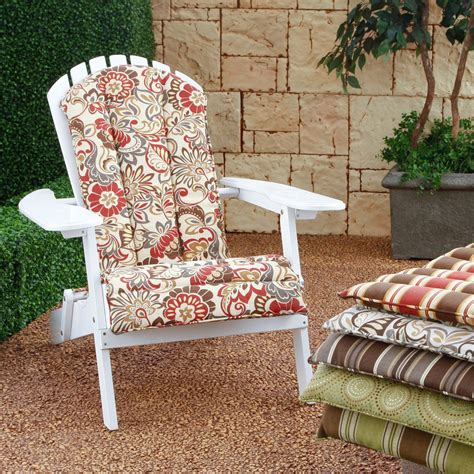 coral coast atrium adirondack chair cushion 52 x 20 in
