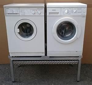 2 Waschmaschinen An Einen Wasserhahn : premium waschmaschinen doppel untergestell mara 2 mit ~ Michelbontemps.com Haus und Dekorationen