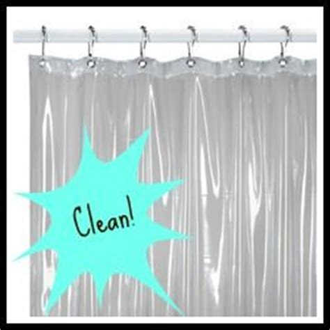 how to clean your plastic shower curtain liner with