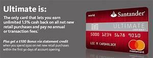 Santander 1plus Visa Card Abrechnung : santander ultimate cash back credit card 100 statement credit bonus 1 5 unlimited cash back ~ Themetempest.com Abrechnung