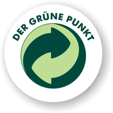 recycling logos pic gt der grüne punkt logo