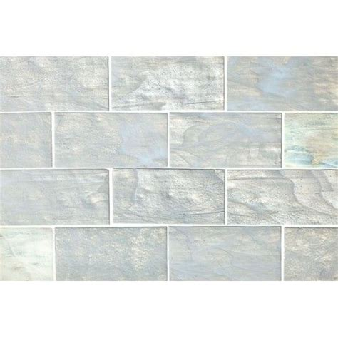 Of Pearl 3x6 Subway Tile by Pearl Subway Tiles For Splashback Renovation