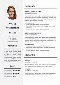 Ikebukuro elegant resume template for Elegant resume templates
