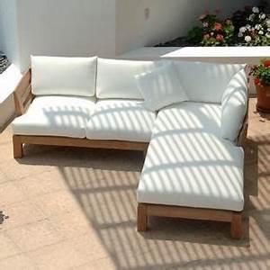 Canape Bois Exterieur : canape exterieur bois maison design ~ Teatrodelosmanantiales.com Idées de Décoration