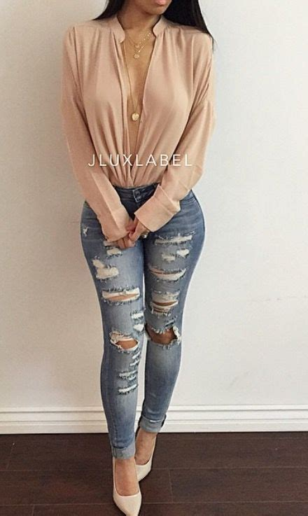 Kimberly jeans paired with Casual drape blouse(black or white) | Fashion Inspiration | Pinterest ...