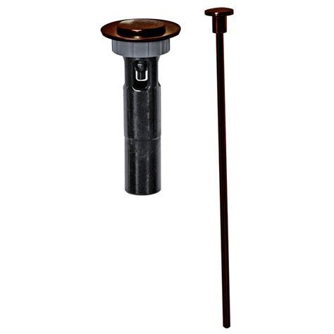 oil rubbed bronze bathroom sink drain ez connect mix match bathroom drain trim in oil rubbed