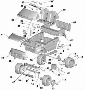 Power Wheels Ford F150 Tru Parts