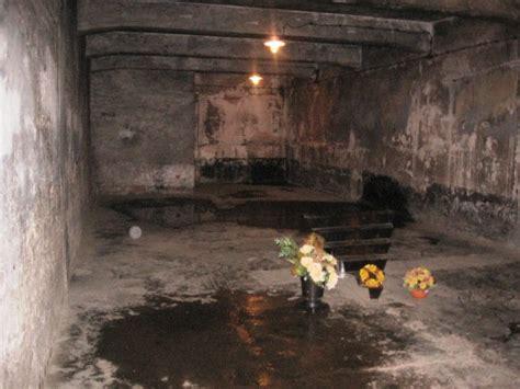 les chambres à gaz expo photo panneau 1 sur auschwitz 1 le cafuron