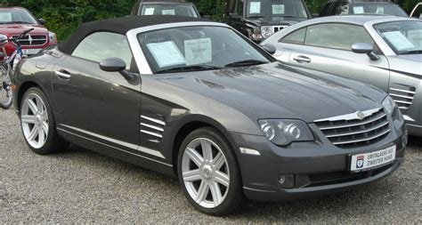 Filechrysler Crossfire Roadster Front Wikimedia Commons