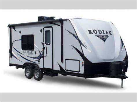 kodiak ultra lite travel trailer rv sales  floorplans