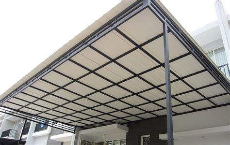 model kanopi terbaru baja ringan rumah minimalis 2018