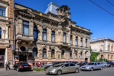 Mansion Of Baron Kelch In St Petersburg