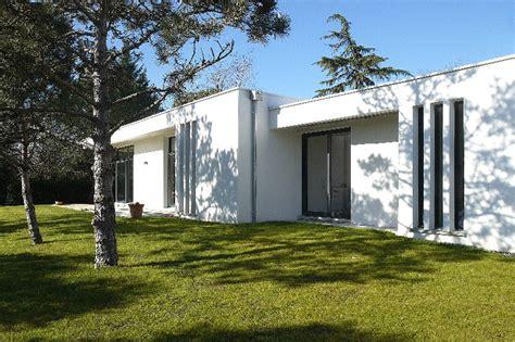 reportage fin de chantier maison d architecte contemporaine de plain pied 224 toit plat situ 233 e