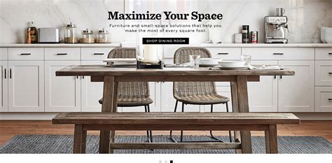 Apartment Furniture by Furniture For Apartments Small Spaces Pottery Barn