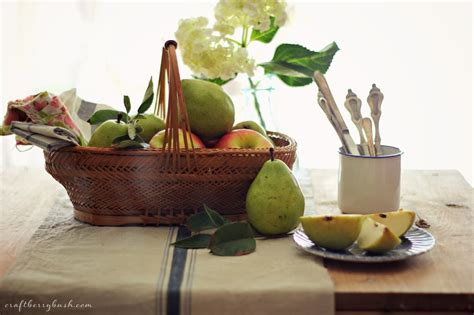 Summer Pears And Keeping In Touch