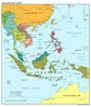 Large scale political map of Southeast Asia – 2012 ...